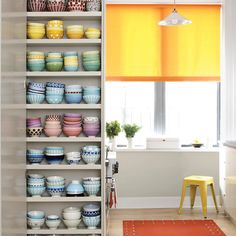 If only every kitchen could be color-coordinated like this.