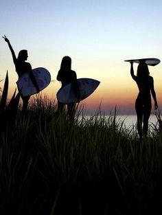 #Surf girls...