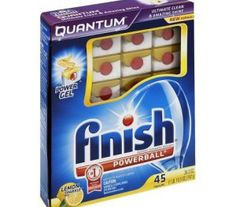 Target: Finish Quantum Max Dishwasher Tablets 45 ct, Only $5.17 (Reg $8.99) - http://couponkarma.com/?p=150589
