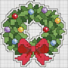 Cross Stitch : Eleven Easy Christmas Cross Stitch - Free Pattern