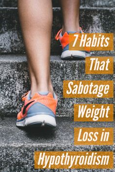 7 Habits That Sabotage Weight Loss When You Have Hypothyroidism Skipping breakfast, skimping on sleep, and missing your medication are just a few of the reasons that losing weight can be difficult when you have hypothyroidism. Hypothyroidism Diet, Thyroid Diet, Thyroid Issues, Thyroid Disease, Thyroid Problems, Thyroid Health, Losing Weight With Hypothyroidism, Autoimmune Disease, Ibs