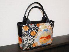 Japan Bag, Hobo Style, Batik Prints, Japanese Textiles, Patchwork Bags, Fabric Bags, Printed Bags, Handmade Bags, Evening Bags