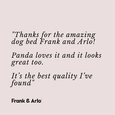 For Dogs Who Deserve The Best (@frankandarlo) • Instagram photos and videos Designer Dog Beds, Cool Dog Beds, Panda Love, The Best, Your Pet, Thankful, Luxury, Videos, Dogs