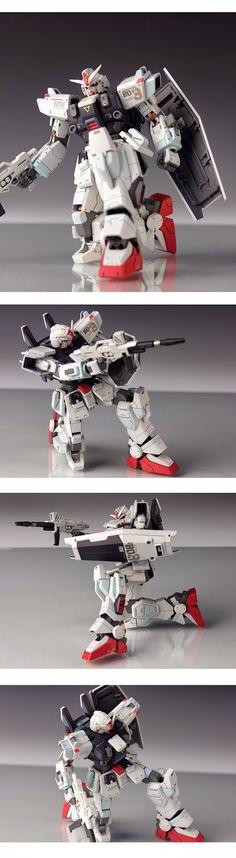 GUNDAM GUY: 1/144 RX-79BD-3 Gundam Blue Destiny Unit 3 - Customized Build