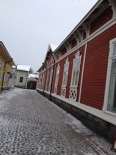 Old Town of Rauma. Wooden Architecture, Western Coast, Scandinavian Home, Old City, Old Town, Old Houses, 18th Century, Finland, The Neighbourhood