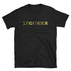 Engineer T-Shirt Enginerd Shirt,Engineering Shirt,Trust Me I'm an Engineer Shirt Pi Sign Math Geek Shirts Nerdy T Shirts Science T Shirt by PuffinshopStudio on Etsy