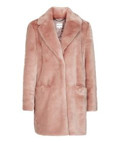 8 Colorful Faux Fur Coats to Brighten Up Your Winter Outlook - Reiss  - from InStyle.com