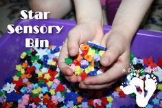 Star Sensory Bin - 3Dinsoaurs.com