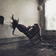 The portraiture of 18-year-old Alex Stoddard.  This picture freaks me out. It's very hard not to feel involved; like you should be reaching out to stop the chair from tipping. Fantastic moment; insanity caught on film.
