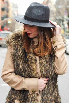 Fur Coat on the Darling Two #fur #rachelzoe #style