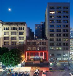 Cliftons Cafeteria by Hunter Kerhart Nights On Broadway, I Love La, Architectural Photographers, Downtown Los Angeles, Landscape Photos, Wednesday, Architecture, Nice, Travel