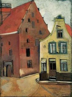 "Felix Nussbaum (German-Jewish: 1904 – 1944) - ""Storehouse"" 1926"
