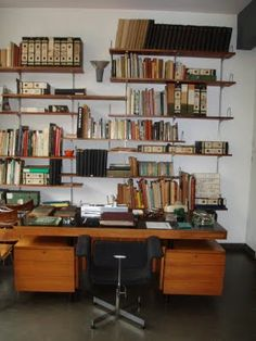 the study at Arno Goldfinger's house at 2 Willow Rd, London
