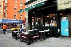 Velselka...my absolute favorite restaurant in the world...  2nd and 9th in the East Village.