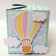 Balões - caixa catavento