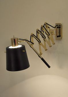 PASTORIUS wall. One of the most usefull and beautifull lamps I've seen. @Delightfull Unique Lamps @Faith Sheridan