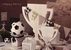 Happy Party: La fiesta de Alberto { decoración de Fútbol con un aire retro}