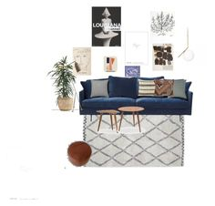"""Stue2"" by christine-delmar on Polyvore featuring interior, interiors, interior design, home, home decor and interior decorating"