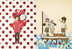 kids and polka dots