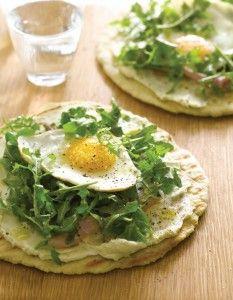 Giada's Crispy Breakfast Pita via cravebyrandohouse #Pita #Breakfast