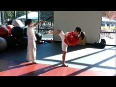 Team-M Taekwondo: Side-Kick drills I love these kicks