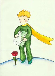 ...and of course, one cannot forget Little Prince's rose !
