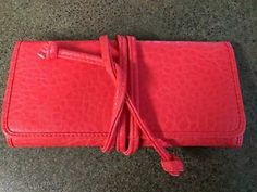 Travel Jewelry Organizer Birthday Gift for Traveller Coral Links