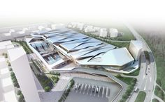 Luxexpo Exhibition Centre and Kirchberg Station » UNStudio