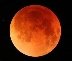 """The Bible speaks of a blood-red moon prior to Jesus Christ's return. Joel 2:31 (KJV) The sun shall be turned into darkness, and the moon into blood, before the great and terrible day of the LORD come. Acts 2:20 (KJV) The sun shall be turned into darkness, and the moon into blood, before that great and notable day of the Lord come.   The Jewish Talmud says, """"When the moon is in eclipse, it is a bad omen for Israel. If its face is as red as blood, ( a sign) the sword is coming to the world."""""""