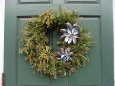 Nautical wreath at Mystic Seaport, CT