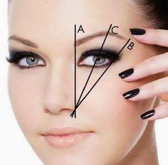 Aprenda a fazer as suas sobrancelhas, com esta dica não tem como errar :) #dicasdebeleza #sobrancelhas