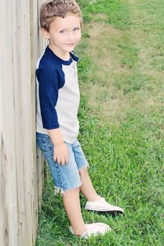 Little Boy Fashion, Casual, Cool, Hip, Trendy, Toddler, converse, raglan, shorts