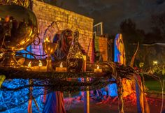 gorgeous Halloween photo! GraveyardCareTaker's 2014 Haunt and Thank Yous!