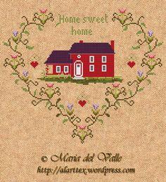 Home Sweet Home - very pretty free design