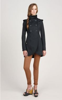 Love a fitted, stylish coat!
