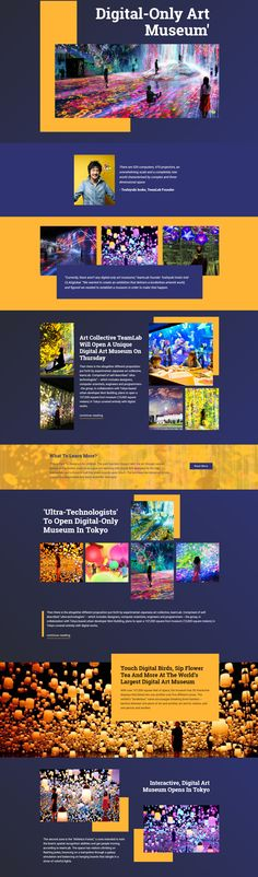 74 Best Art and Music in Web Design images in 2019