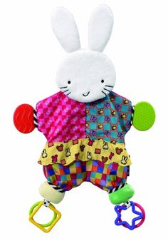 Black Friday Deal Amazing Baby: Blanket Teether Bunny by Kids Preferred from Kids Preferred Cyber Monday
