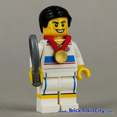 lego minifigure olympics | Tactical Tennis Player - 8909 Team GB Lego Minifigures Olympic Series ...