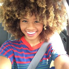 Her Fro Makes Me Happy!!!