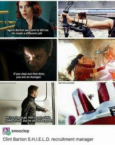 Avenger Recurring, butt kicking, arrow shooting, kinda guy