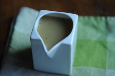 Cider Sage Gravy: Don't strain out the lovely brown bits!