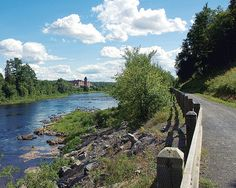 View of the old Cotton Mill from wonderful riverside trails in Fredericton, New Brunswick, CANADA New Brunswick, Canada Pictures, Discover Canada, East Coast Travel, Atlantic Canada, O Canada, Prince Edward Island, Largest Countries