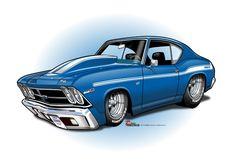 Rat Fink, Cartoons Magazine, Cool Car Drawings, Car Head, Car Guide, Car Illustration, Illustrations, Truck Art, Weird Cars