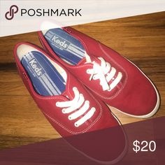 Red Keds Keds in great condition. Size 9 Keds Shoes Sneakers