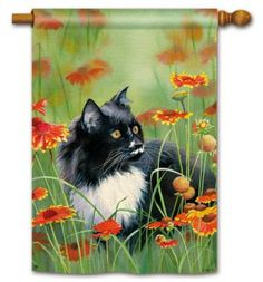 Lucy Cat House Flag