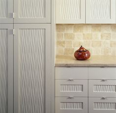 Custom Wood Cabinet Panels modern-kitchen-cabinetry unique center panels in cabinets