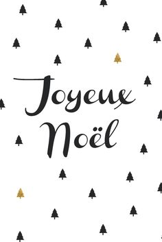 Carte Joyeux Noël sapin noir et dorés Hello Nobo Noel Christmas, Christmas Quotes, Christmas And New Year, Winter Christmas, Christmas Cards, Christmas Graphics, Winter Holidays, Winter Illustration, Christmas Aesthetic