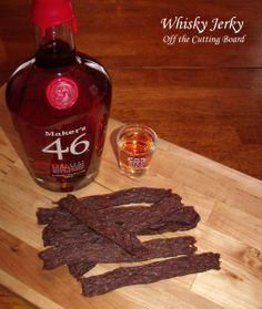 Whisky Jerky made with ground beef! It's really easy and oooooh soo delicious!