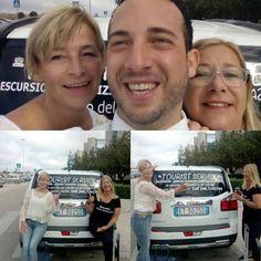 Un saluto dalla Tourist Service Mazara..Turiste entusiaste della nostra città di Mazara del Vallo...servizio transfer in tutta la Sicilia..#mazaradelvallo #taxidriver #aeroportobirgi #taxi Taxi