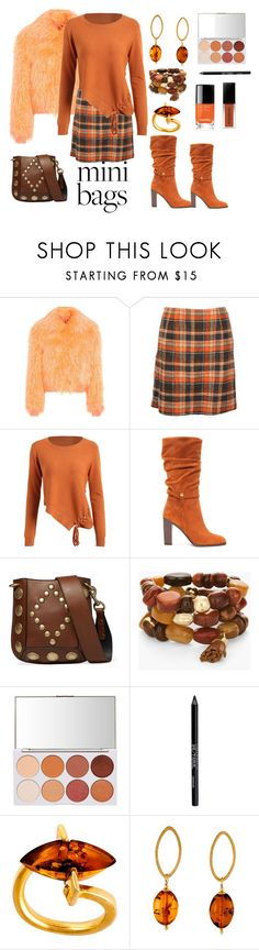 Untitled #805 by siriusfunbysheila1954 on Polyvore featuring Sies Marjan, Hobbs, Donald J Pliner, Isabel Marant, Be-Jewelled, Chico's and Urban Decay